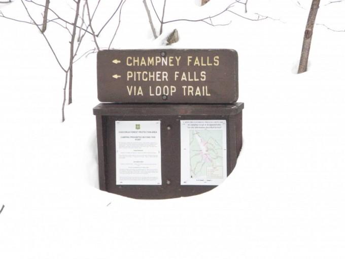 Chocorua via Champney, 02/03/09